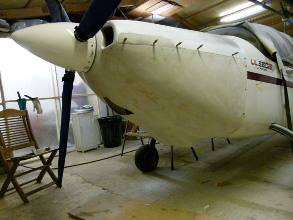 Europa Kit Build Aeroplane